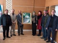 SOLMAZ - Sanatçılardan Müdür Başyiğit'e Ziyaret