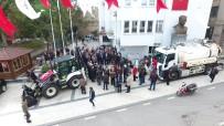 Sinop Belediyesinin Yeni Araçları Tanıtıldı