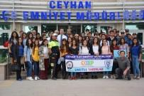 CEYHAN - Terör Polisi Çocukları Tiyatroya Götürdü