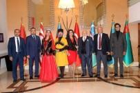 MEHMETÇIK - Türkiye Ve Azerbaycan'ın Kuruluşları Sanat Şöleniyle Kutlandı