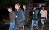 Türkiye'ye Çalışmaya Gelen Kaçak 25 Afganistanlı Yakalandı