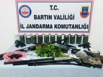 Bartın'da Uyuşturucu Operasyonu Açıklaması 5 Tutuklama
