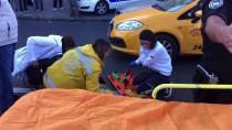 GÜMÜŞSUYU - Beyoğlu'nda Taksinin Çarptığı Turist Yaralandı