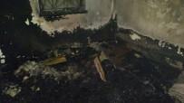 SEVINDIK - Çıkan Yangında Sadece Kur'an-I Kerim Zarar Görmedi