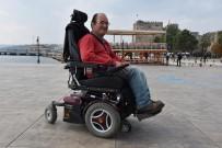 Engelli Genç Akülü Aracına Kavuştu