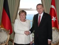 VAHDETTIN - Erdoğan Almanya Başbakanı Merkel'i kabul etti
