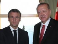 VAHDETTIN - Erdoğan ile Macron görüştü