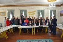NENE HATUN - Erzurum Konfederasyonu Erzurum'da Tanıtım Ziyaretlerinde Bulundu