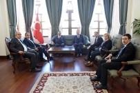 GAZIANTEP TICARET ODASı - GSO Yönetimi Vali Tekinarslan'ı Ziyaret Etti