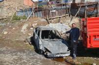 SAMANLıK - Köyde Çıkan Yangında Ev, Samanlık Ve Otomobil Kül Oldu