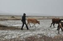 (ÖZEL) Kars'ta Kar Ve Tipiye Yakalanan Çobanlar Zor Anlar Yaşadı