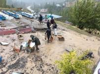 Şırnak'ta Aşırı Yağış Toprak Kaymasına Neden Oldu