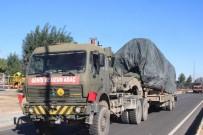 AFRİN - Suriye Sınırına Tank Ve Fırtına Obüs Sevkıyatı