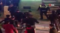 ARBEDE - Asker Uğurlaması Yapan Grupla Polis Arasında Arbede