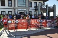 Hatay'da Cumhuriyet Bisiklet Turu Düzenlendi