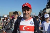 İnebolu'da Pedallar Cumhuriyet İçin Çevrildi