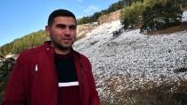 Kars'ta Kar Manzaraları Büyüledi