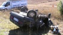 KıRıM - Konya'da 3 Araç Kazaya Karıştı Açıklaması 1 Ölü, 5 Yaralı