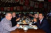 CEMAL ENGINYURT - MHP Ordu Milletvekili Enginyurt, Ünye Teşkilatıyla Buluştu