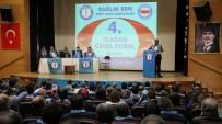 Sağlık-Sen Genel Başkanı Memiş, Siirt Şubesi Kongresi'ne Katıldı