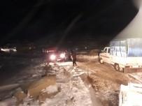 Tipi Nedeniyle Yaylada Mahsur Kalan Vatandaşlar Kurtarıldı