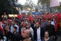 Adana'da Meşaleler Cumhuriyet'in 95. Yılı İçin Yandı