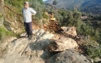 AKÇALı - Akçalı'da Zeytinlik Arazilere Yol Yapıldı