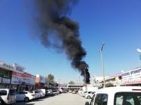 BEŞEVLER - Bursa'da Korkutan Yangın