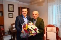Cumhuriyetle Yaşıt Emekli Öğretmene Başkan Genç'ten  Anlamlı  Ziyaret