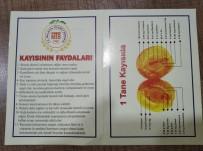 RAMAZAN ÖZCAN - Galatasaray Maçını Takip Eden Gazetecilere Ve Protokole Kayısı İkramı