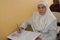 Kayyum Belediyenin Açtığı Kursa Katılan 70 Yaşındaki Nahide Arı'nın Okuma Azmi  Örnek Oluyor