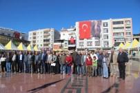MEHTAP - Kilis'te CHP Ve ADD'den Alternatif Çelenk Sunma Töreni
