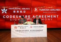 TELEKONFERANS - THY İle Hong Kong Havayolları Ortak Uçuş Anlaşması İmzaladı