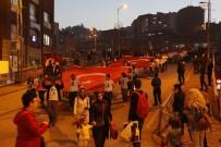 Zonguldak'ta Fener Alayı Yürüyüşü Düzenlendi