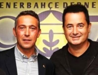 Acun Ilıcalı'dan Fenerbahçe ve Ali Koç açıklaması