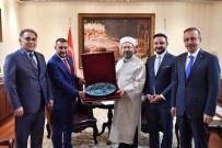 MİLLİ SAVUNMA KOMİSYONU - AK Parti Nevşehir Heyeti, Diyanet İşleri Başkanı Erbaş'ı Ziyaret Etti