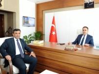BAHÇECIK - AK Parti Ortahisar İlçe Başkanı Altunbaş'tan Başsavcısı Tüncel'e Ziyaret