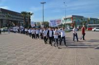 ALIYEV - Aliağa'da Sağlıklı Yaşam İçin Yürüyüş