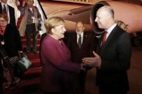 ANGELA MERKEL - Almanya Başbakanı Merkel İsrail'de