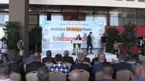 MOBİLYA FUARI - Antalya Mobilya Fuarı Açıldı