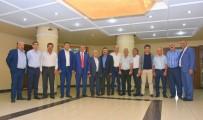 MAHMUT ARSLAN - Başkan Alıcık, Oda Başkanlarını Ağırladı