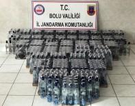 Bolu'da 745 Şişe Kaçak İçki Ele Geçirildi