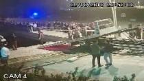 Çankırı'daki Trafik Kazası Güvenlik Kamerasına Yansıdı