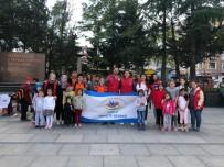 TEKIRDAĞ ÇORLU - Çorlu Gençlik Merkezi Çocuklarla Meydanlara Çıktı