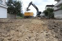 YıLDıRıM BEYAZıT - Ergene'de Asfalt Öncesi Yol Kazı Çalışmaları