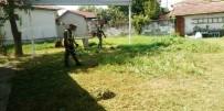 MARMARACıK - Ergene'de Park Ve Bahçelerde Yoğun Mesai