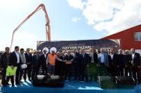 TUNCAY TOPSAKALOĞLU - Erzurum Hayvan Borsasının Temeli Atıldı