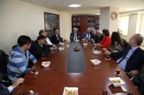 FIRINCILAR ODASI - Esnaf Odalarından Başkan Vekili Özak'a Ahilik Haftası Ziyareti