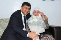 RıDVAN FADıLOĞLU - Fadıloğlu'ndan Dünya Yaşlılar Günü Ziyareti