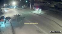 ESKİBAĞLAR MAHALLESİ - Gümüşhane'deki Kazalar MOBESE Kameralarına Yansıdı